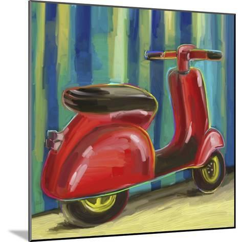 Pop Scooter-Howie Green-Mounted Giclee Print