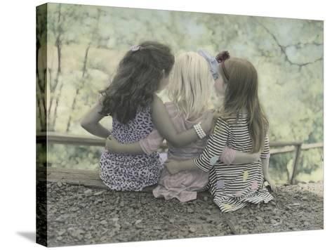 Hugs-Gail Goodwin-Stretched Canvas Print