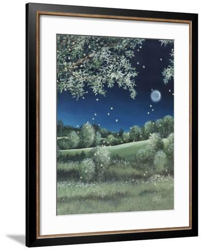 Fireflies Meadow-Debbi Wetzel-Framed Art Print