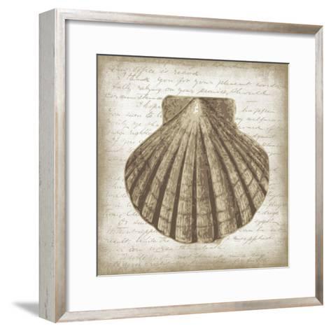Shell I-Erin Clark-Framed Art Print