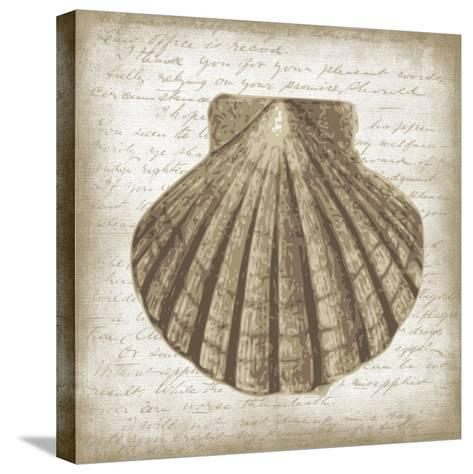 Shell I-Erin Clark-Stretched Canvas Print