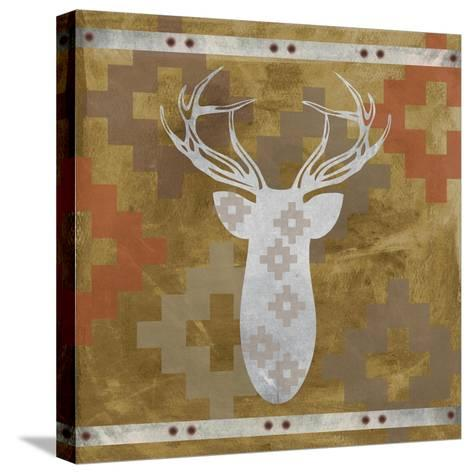 Deer Rack-Erin Clark-Stretched Canvas Print