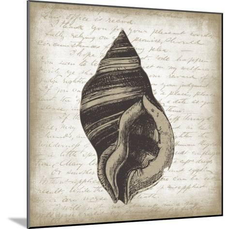 Shell II-Erin Clark-Mounted Giclee Print