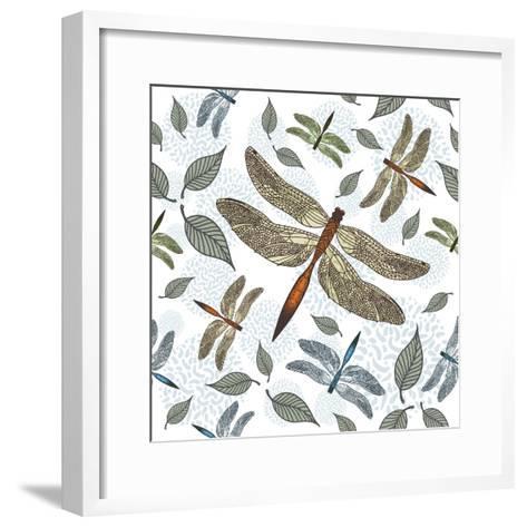 Repeat Patter 15-LXVI-Fernando Palma-Framed Art Print