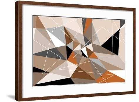 Triangle 2-LXXII-Fernando Palma-Framed Art Print