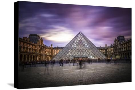 Louvre I-Giuseppe Torre-Stretched Canvas Print