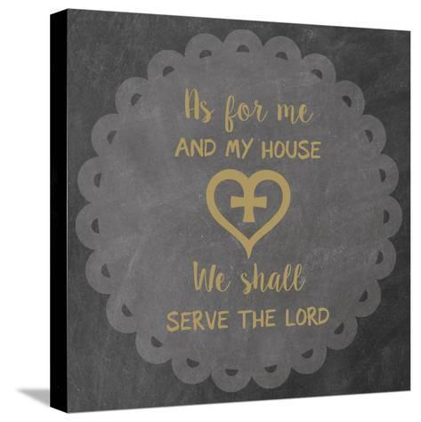 Serve-Erin Clark-Stretched Canvas Print