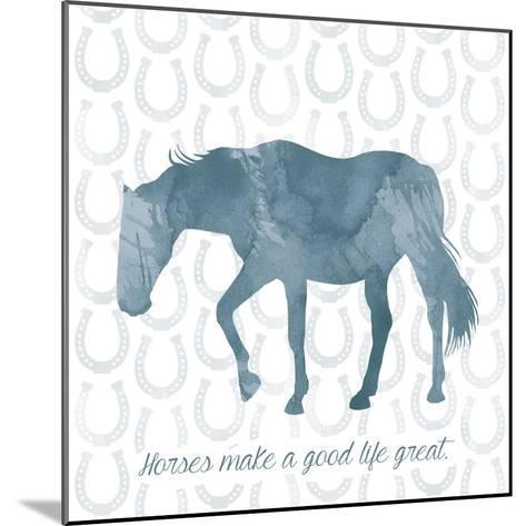 Horse Great-Erin Clark-Mounted Giclee Print