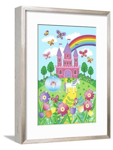 Princess Castle-Elizabeth Caldwell-Framed Art Print