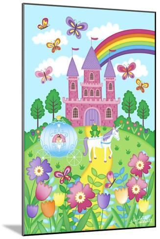 Princess Castle-Elizabeth Caldwell-Mounted Giclee Print