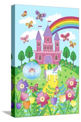Princess Castle-Elizabeth Caldwell-Stretched Canvas Print