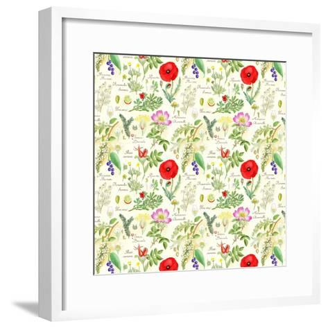 Bothanical Sketches-Gaia Marfurt-Framed Art Print