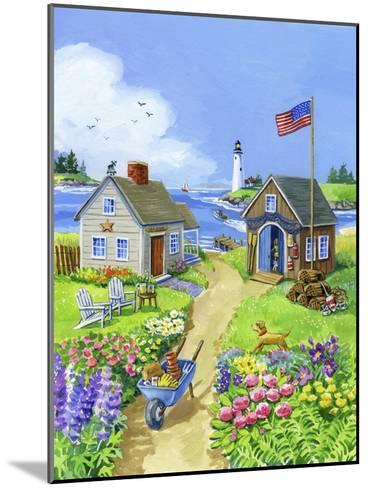 Boathouse Cove-Geraldine Aikman-Mounted Giclee Print