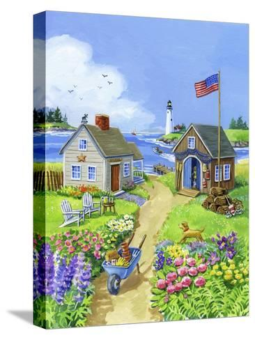 Boathouse Cove-Geraldine Aikman-Stretched Canvas Print