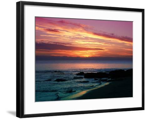 Sunset-Fernando Palma-Framed Art Print