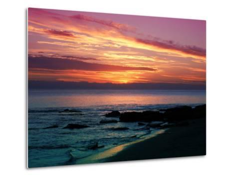 Sunset-Fernando Palma-Metal Print
