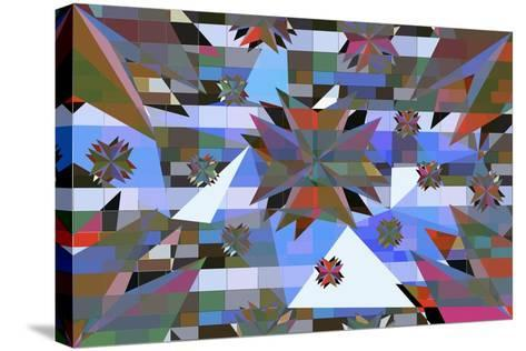 Triangle 6-LXXVI-Fernando Palma-Stretched Canvas Print