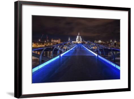 Millennium Bridge-Giuseppe Torre-Framed Art Print