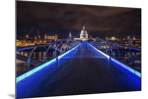 Millennium Bridge-Giuseppe Torre-Mounted Photographic Print