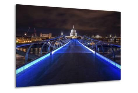 Millennium Bridge-Giuseppe Torre-Metal Print