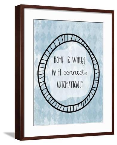 Wifi-Erin Clark-Framed Art Print