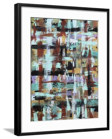 Abstract Plaid 1-Karla Gerard-Framed Art Print