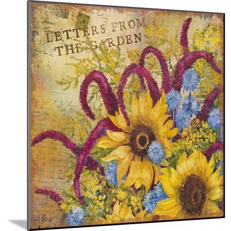 Letters from the Garden II-Joanne Porter-Mounted Giclee Print
