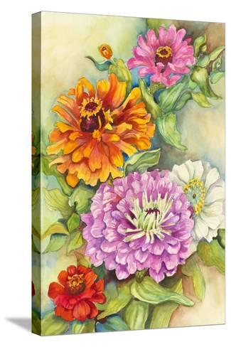 Z for Zinnia-Joanne Porter-Stretched Canvas Print
