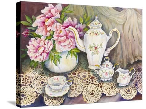 Tea Time-Joanne Porter-Stretched Canvas Print