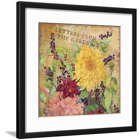 Letters from the Garden III-Joanne Porter-Framed Art Print