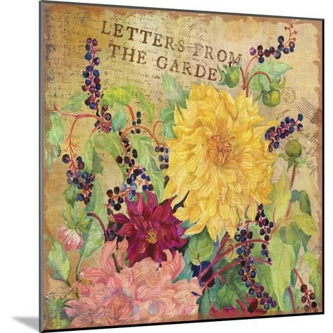 Letters from the Garden III-Joanne Porter-Mounted Giclee Print