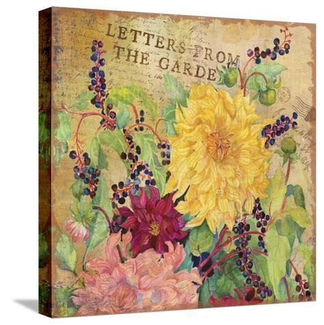 Letters from the Garden III-Joanne Porter-Stretched Canvas Print