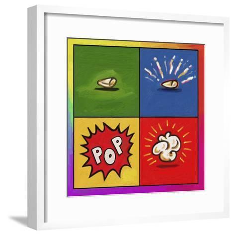 Popcorn Pop-Howie Green-Framed Art Print