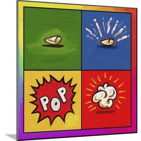Popcorn Pop-Howie Green-Mounted Giclee Print