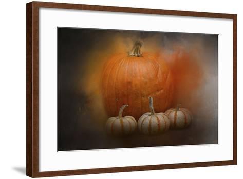 Pumpkins in October-Jai Johnson-Framed Art Print