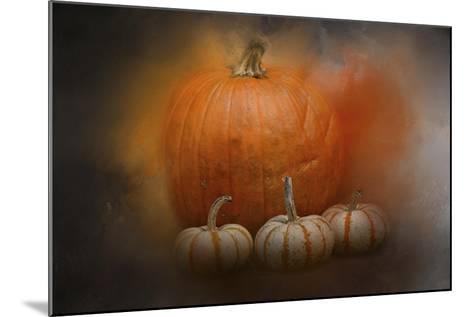 Pumpkins in October-Jai Johnson-Mounted Giclee Print