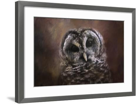 The Curious Owl-Jai Johnson-Framed Art Print