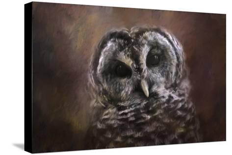The Curious Owl-Jai Johnson-Stretched Canvas Print