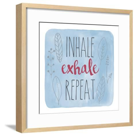 Inhale-Erin Clark-Framed Art Print
