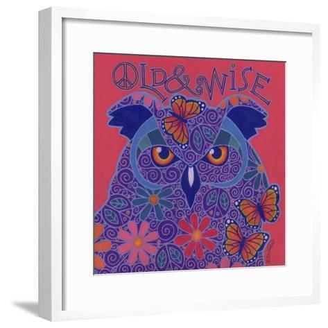 Great Horned Owl-Denny Driver-Framed Art Print