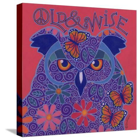 Great Horned Owl-Denny Driver-Stretched Canvas Print