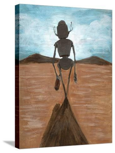 A Long Walk-Craig Snodgrass-Stretched Canvas Print