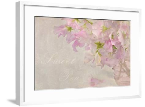 Sweet Pea-Cora Niele-Framed Art Print