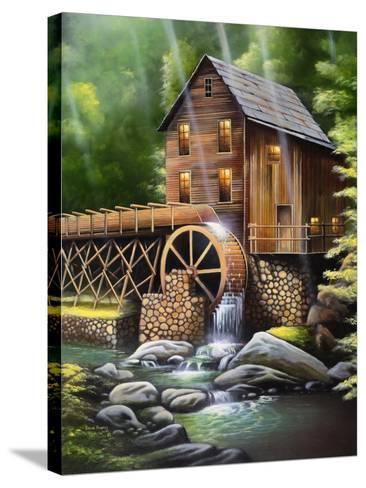 Gristmill-Geno Peoples-Stretched Canvas Print