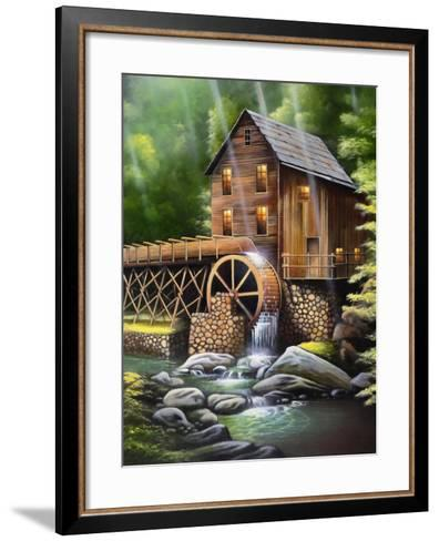 Gristmill-Geno Peoples-Framed Art Print