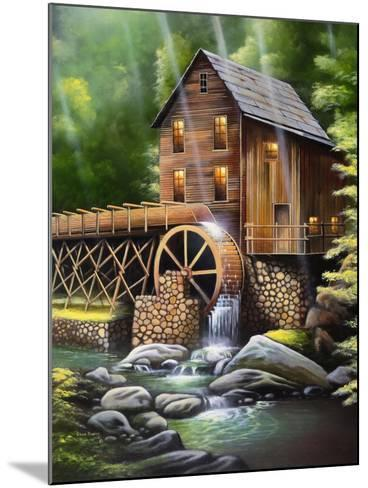 Gristmill-Geno Peoples-Mounted Giclee Print
