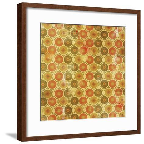 Patterned I-Greg Simanson-Framed Art Print