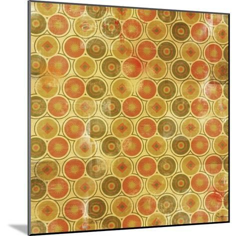 Patterned I-Greg Simanson-Mounted Giclee Print