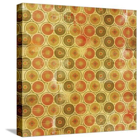 Patterned I-Greg Simanson-Stretched Canvas Print