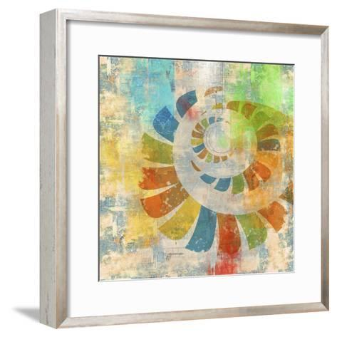 Graphic Abstract 3-Greg Simanson-Framed Art Print